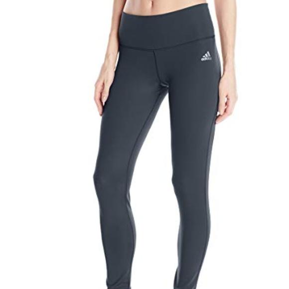 a142791699d adidas Pants | Performance Performer Midrise Long Tights | Poshmark